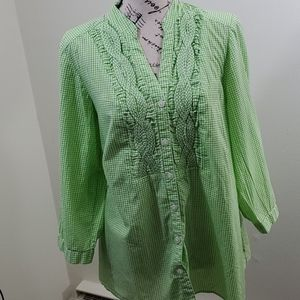 Charter Club Woman Blouse size 16w